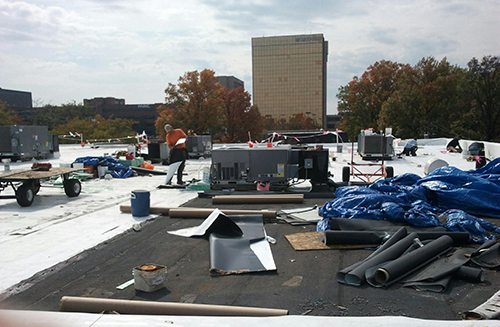 Commercial Roof Repair in St. Louis